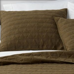Project 62 Triangle Stitched Jersey Pillow Sham